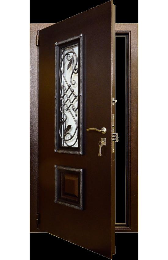 Дверь входная Гранит Коттедж